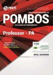 Apostila Prefeitura de Pombos - PE - Professor PA