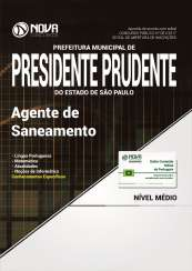 Apostila Prefeitura de Presidente Prudente - SP - Agente de Saneamento