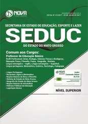 Apostila SEDUC-MT - Comum a Todas as áreas de Professor de Educação Básica