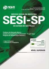 Apostila SESI-SP - Professor de Educação Básica I (Aux. Docente/Ensino Fund - 1º ao 5º Ano/Prog. de Alfabetização Intensiva - PAI)