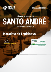 Apostila Câmara de Santo André - SP - Motorista do Legislativo