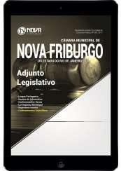 Download Apostila Câmara Municipal de Nova Friburgo - RJ Pdf - Adjunto Legislativo