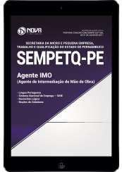Download Apostila SEMPETQ-PE Pdf - Agente de Intermediação de Mão de Obra