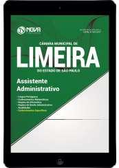Download Apostila Câmara de Limeira - SP Pdf - Assistente Administrativo