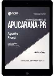 Download Apostila Pref. de Apucarana-PR Pdf - Agente Fiscal