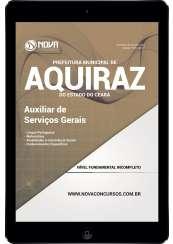 Download Apostila Prefeitura de Aquiraz - CE Pdf - Auxiliar de Serviços Gerais