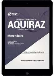 Download Apostila Prefeitura de Aquiraz - CE Pdf - Merendeira