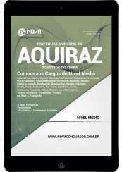 Download Apostila Prefeitura de Aquiraz - CE Pdf - Comum aos Cargos de Nível Médio