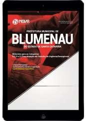 Download Apostila Prefeitura de Blumenau-SC Pdf - Motorista para as categorias: B, C, D e E