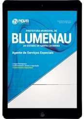 Download Apostila Prefeitura de Blumenau-SC Pdf - Agente de Serviços Especiais