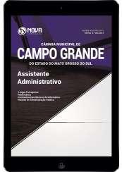 Download Apostila Câmara de Campo Grande - MS Pdf - Assistente Administrativo