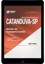 Download Apostila Prefeitura de Catanduva - SP Pdf - Monitor de Transporte Escolar