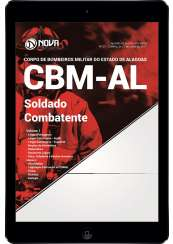 Download Apostila CBM-AL Pdf - Soldado Combatente