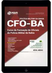 Download Apostila CFO-BA Pdf - Curso de Formação de Oficiais da PM da Bahia