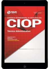 Download Apostila CIOP-SP Pdf - Técnico Administrativo