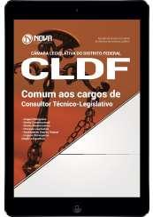 Download Apostila Câmara Legislativa do DF (CLDF) Pdf - Comum aos cargos de Consultor Técnico-Legislativo
