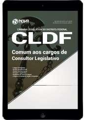 Download Apostila Câmara Legislativa do DF (CLDF) Pdf - Comum aos Cargos de Consultor Legislativo