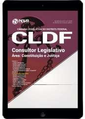 Download Apostila Câmara Legislativa do DF (CLDF) Pdf - Consultor Legislativo - Área: Constituição e Justiça