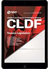 Download Apostila Câmara Legislativa do Distrito Federal (CLDF) Pdf - Técnico Legislativo