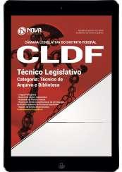 Download Apostila Câmara Legislativa do DF Pdf - Técnico Legislativo - Categoria: Técnico de Arquivo e Biblioteca