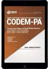 Download Apostila CODEM - PA Pdf- Comum aos Cargos de Nível Médio/Técnico