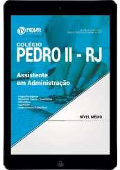 Download Apostila Colégio Pedro II - RJ Pdf - Assistente em Administração