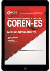 Download Apostila COREN-ES Pdf - Auxiliar Administrativo