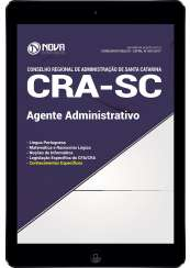 Download Apostila CRA-SC Pdf - Agente Administrativo