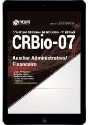 Download Apostila CRBio-PR 7ª Região Pdf - Auxiliar Administrativo/Financeiro