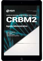 Download Apostila CRBM 2ª Região Pdf - Agente Administrativo