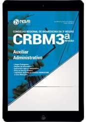 Download Apostila CRBM 3ª Região Pdf - Auxiliar Administrativo