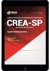 Download Apostila CREA-SP Pdf - Agente Administrativo