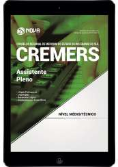 Download Apostila CREMERS Pdf - Assistente Pleno