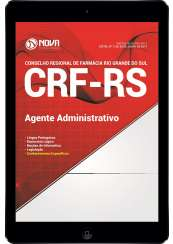 Download Apostila CRF-RS Pdf - Agente Administrativo