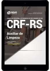 Download Apostila CRF-RS Pdf - Auxiliar de Limpeza
