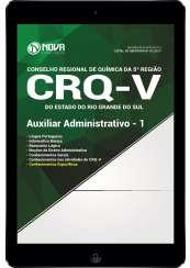 Download Apostila CRQ-V (5ª Região) Pdf - Auxiliar Administrativo 1