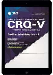 Download Apostila CRQ-V (5ª Região) Pdf - Auxiliar Administrativo 3