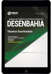 Download Apostila DESENBAHIA - BA Pdf - Técnico Escriturário