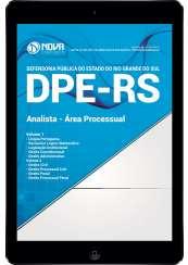 Download Apostila DPE-RS Pdf - Analista - Área Processual