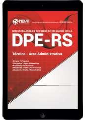 Download Apostila DPE-RS Pdf - Técnico - Área Administrativa