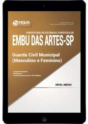 Download Apostila Prefeitura de Embu das Artes - SP Pdf - Guarda Civil Municipal