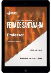 Download Apostila Pref. de Feira de Santana-BA Pdf - Professor