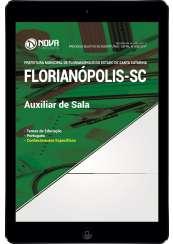 Download Apostila Prefeitura de Florianópolis - SC Pdf - Auxiliar de Sala