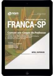 Download Apostila Prefeitura de Franca - SP Pdf - Comum aos Cargos de Professor