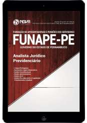 Download Apostila FUNAPE PE Pdf - Analista Jurídico Previdênciário