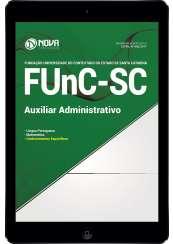 Download Apostila FUnC-SC Pdf - Auxiliar Administrativo