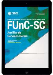 Download Apostila FUnC-SC Pdf - Auxiliar de Serviços Gerais