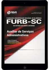 Download Apostila FURB-SC Pdf - Auxiliar de Serviços Administrativos