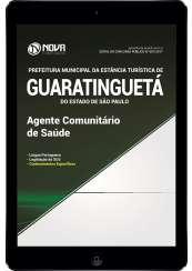 Download Apostila Prefeitura de Guaratinguetá - SP Pdf - Agente Comunitário de Saúde