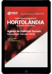 Download Prefeitura de Hortolândia - SP Pdf - Agente de Políticas Sociais – Educador Infantil